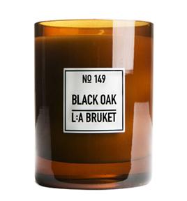 149 duftlys black oak 260g LA Bruket