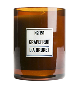 151 duftlys grapefrukt 260g LA Bruket