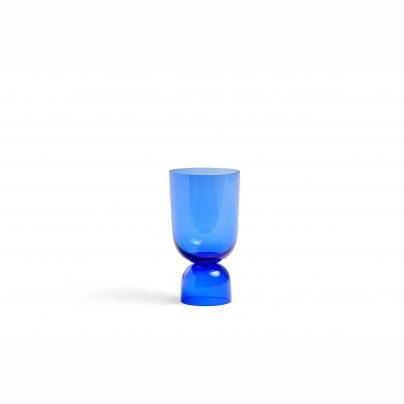 Hay Bottoms Up Vase Electric Blue