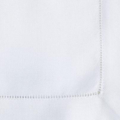 Langkilde & Søn Hvit serviett med hulsøm